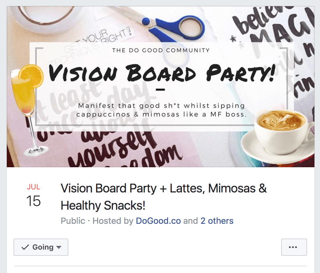 How To Host A Vision Board Party People Will Love Mind