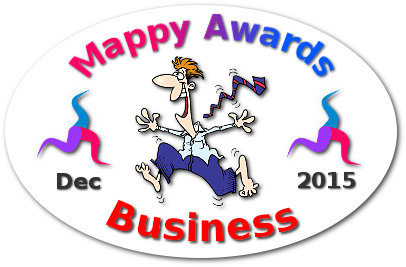 Mappy Awards December 2015 'BUSINESS' Winner by Faizel Mohidin