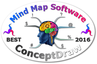 World's Best Mind Mapping Software 2016 Challenge - ConceptDraw badge