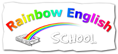 "rainbow teaching learning values ""Rainbow English School"" logo"