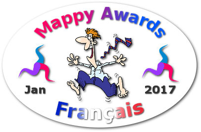 Mappy Awards January 2017 'FRANCAIS' Winner by Marion Charreau