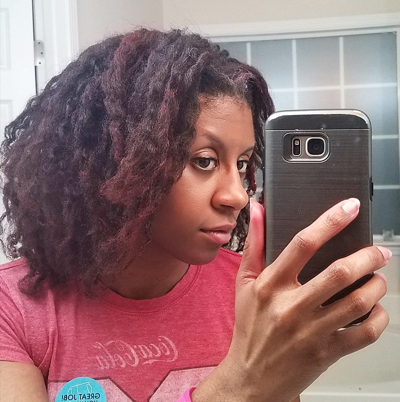 cabell llarg-vermellós