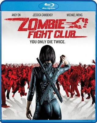 Zombie Fight Club Blu-ray Cover
