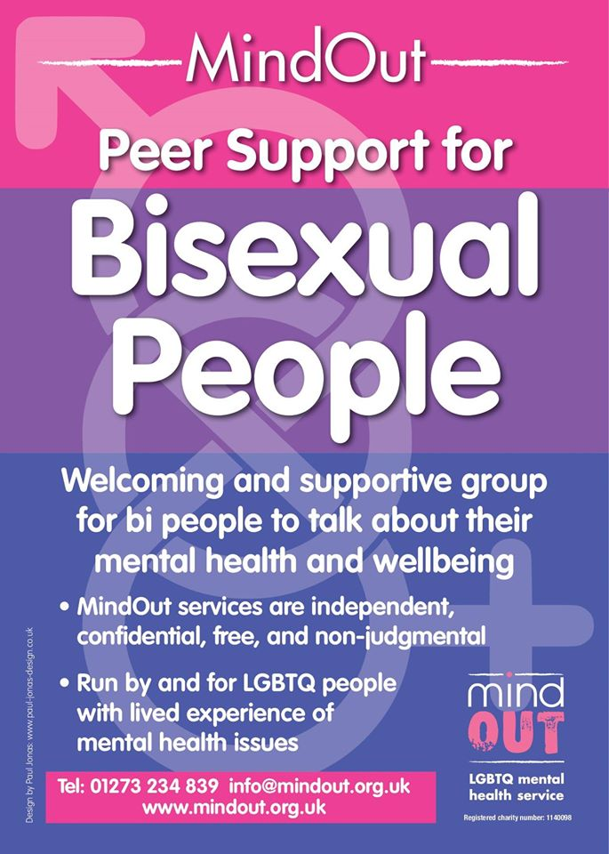 Peer Support Group for Bisexual People