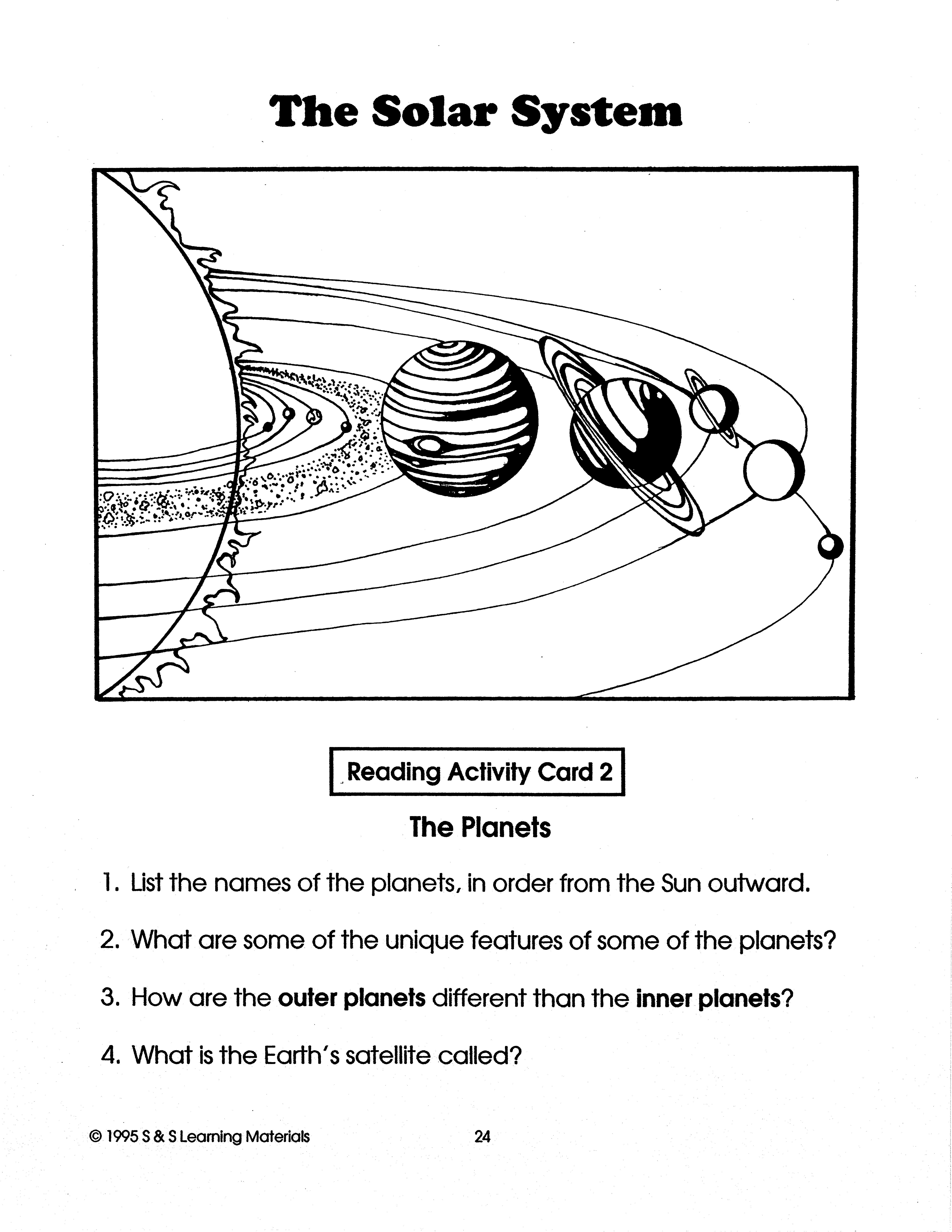 Solar System Grades 4