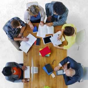 Group of Diverse Various Occupations People Meeting Concept