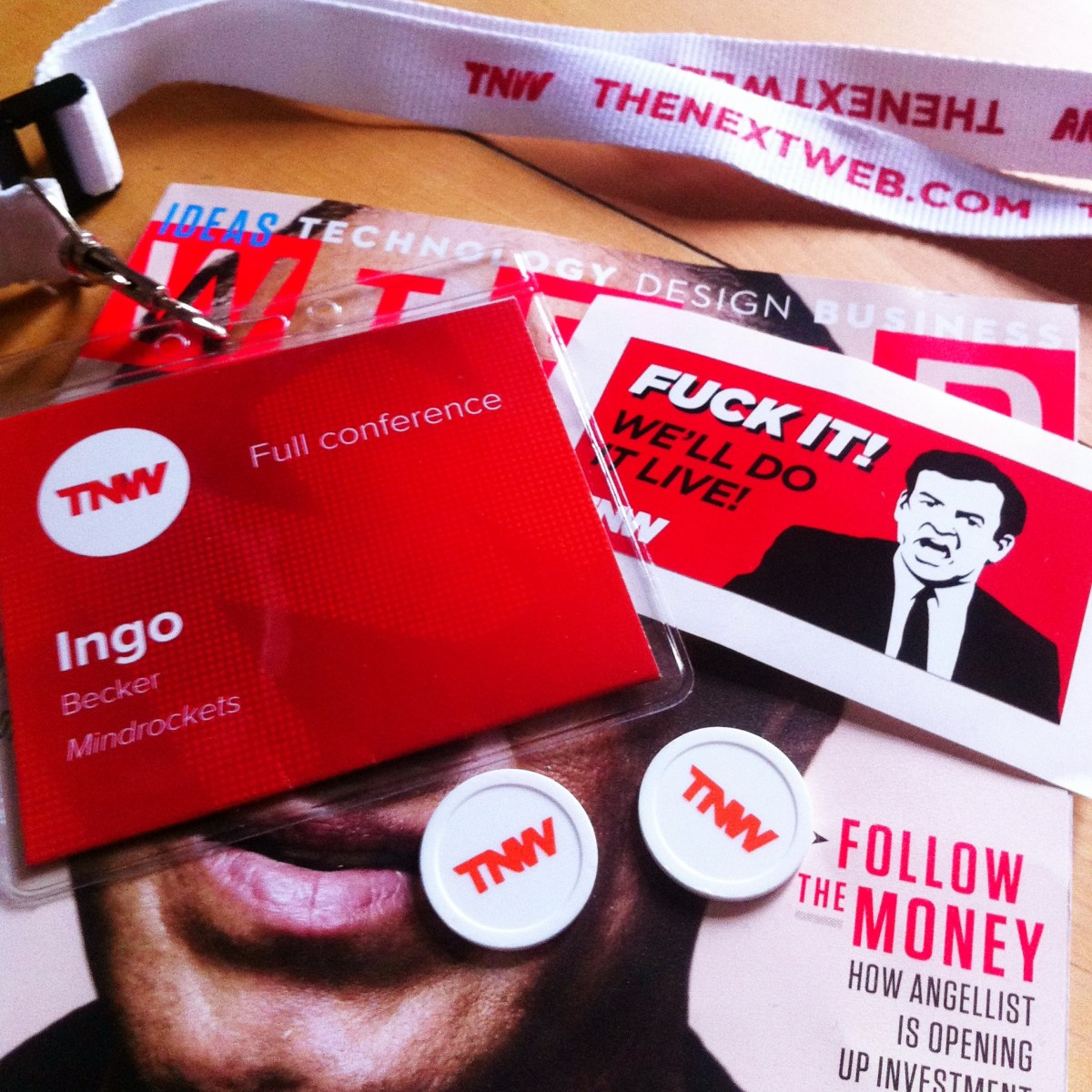 Storytelling, Content Marketing, Trend Scouting, Konferenz, TNW Conference, We do it live