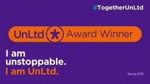 Minds Ahead is an UnLtd Award Winner