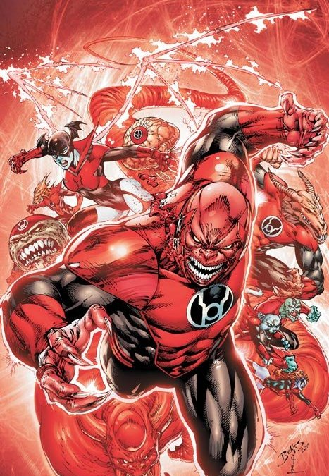DCnU-Comicreview: Red Lanterns #1