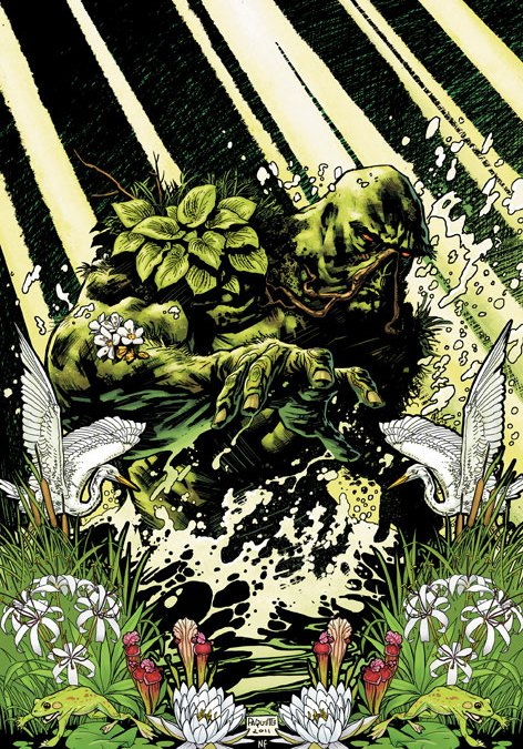 DCnU-Comicreview: Swamp Thing #1
