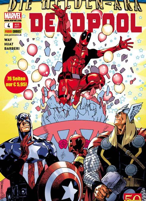 Comicreview: Deadpool #4