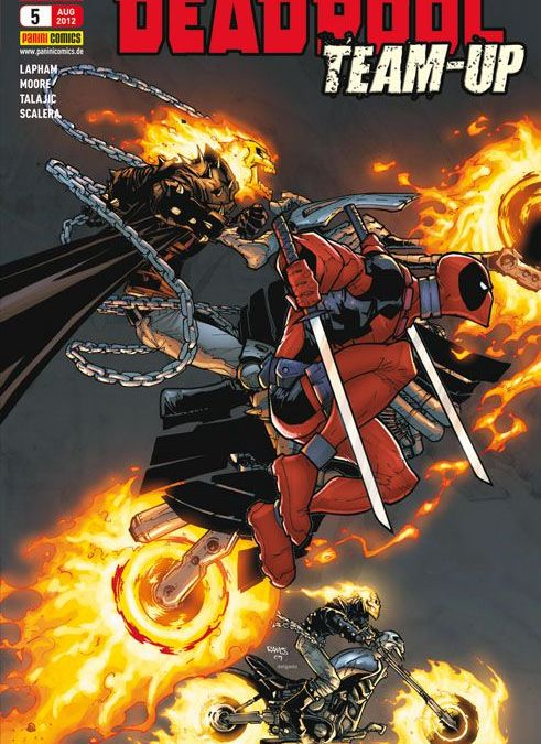 Comicreview: Deadpool Team-Up 1