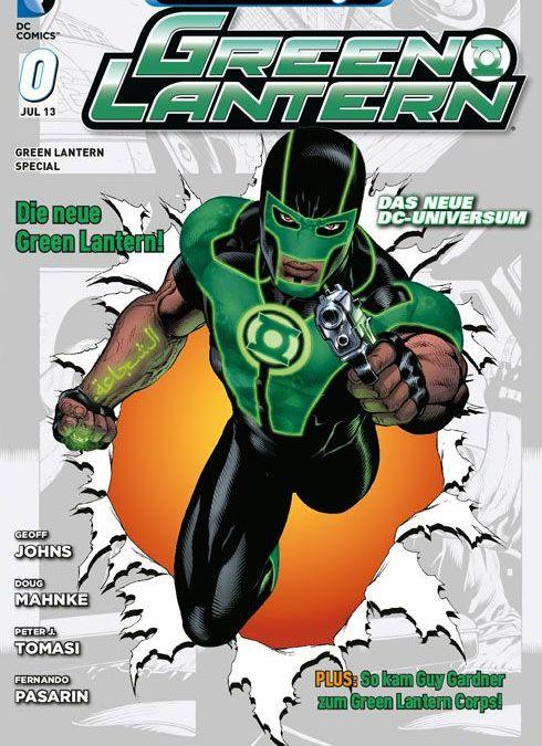 Comicreview: Green Lantern #0