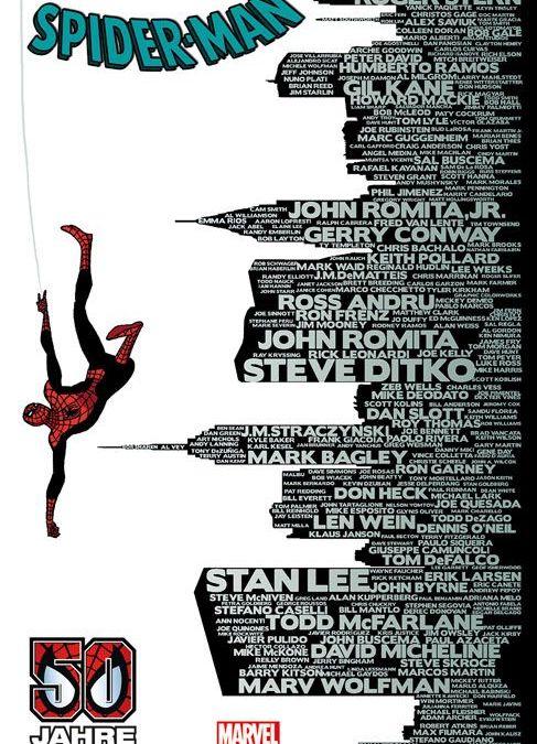 """Comicreview: """"Spider-Man Sonderband – 50 Jahre"""" von Panini"""