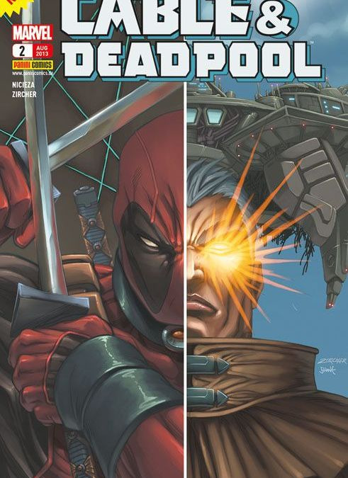 "Comicreview: ""Cable & Deadpool 2 – Brandopfer"""