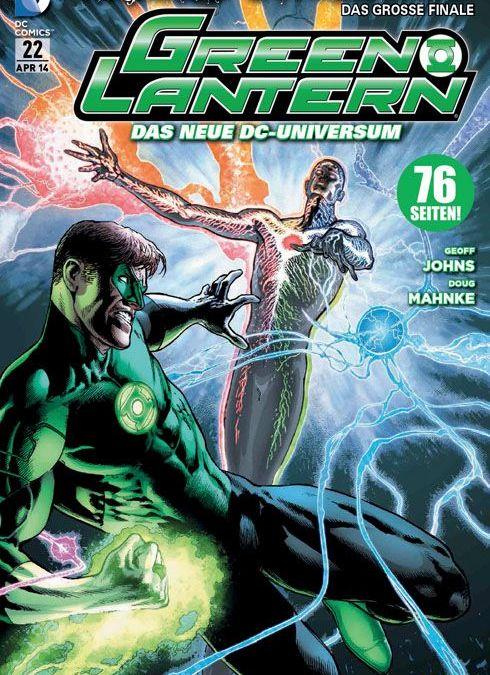 Comicreview: Green Lantern #22 – Auf Wiedersehen Geoff Johns!