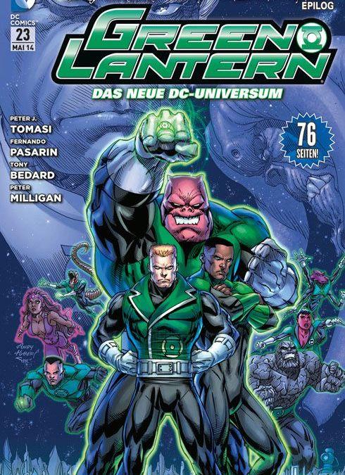 Comicreview: Green Lantern #23