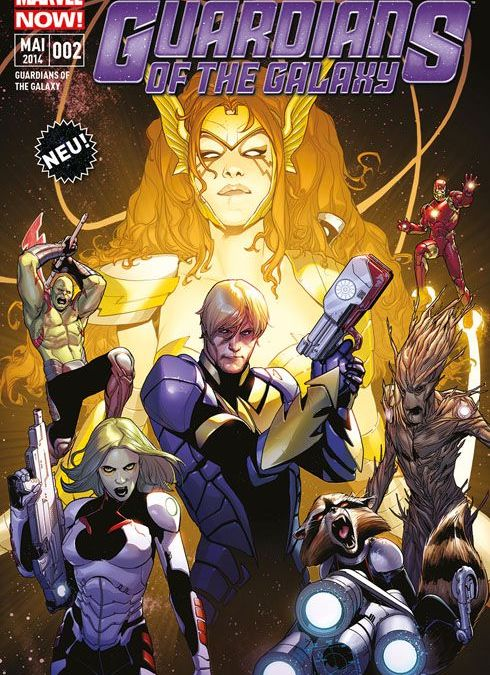 """Comicreview: """"Guardians of the Galaxy – Kriegerin des Himmels"""" Band 2"""