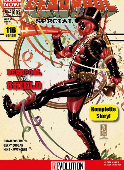 Comicreview: Deadpool vs. SHIELD – Deadpool Special #2