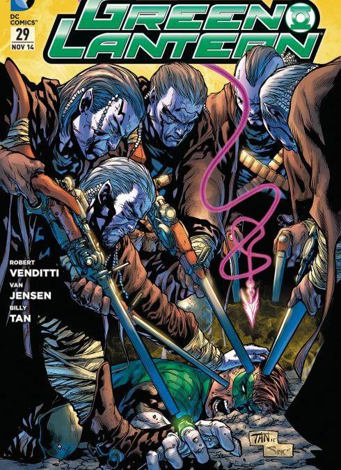 Comicreview: Green Lantern #29