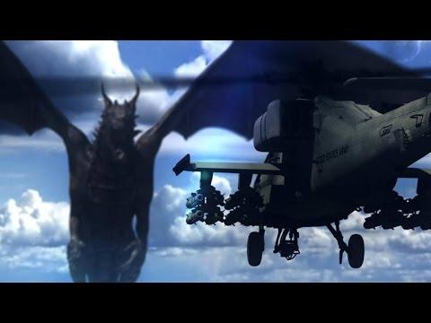 Das Smithsonian sagt, ein echter Drache hätte keine Chance gegen einen Apache Helikopter