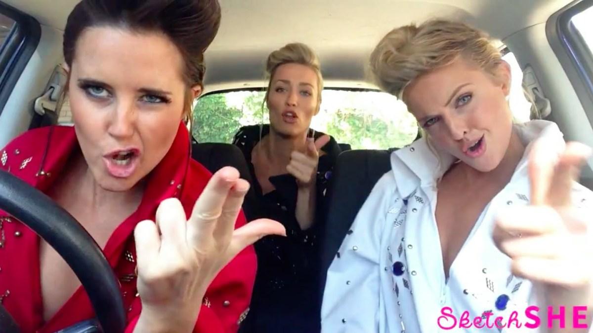 Drei Ladies im Auto und die Hits der 1940er bis heute