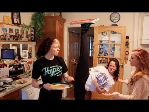 These girls are pancake ninjas!