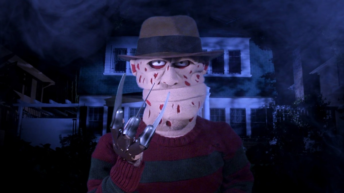 "Freddy Krueger singt ""Dream A Little Dream of Me"""