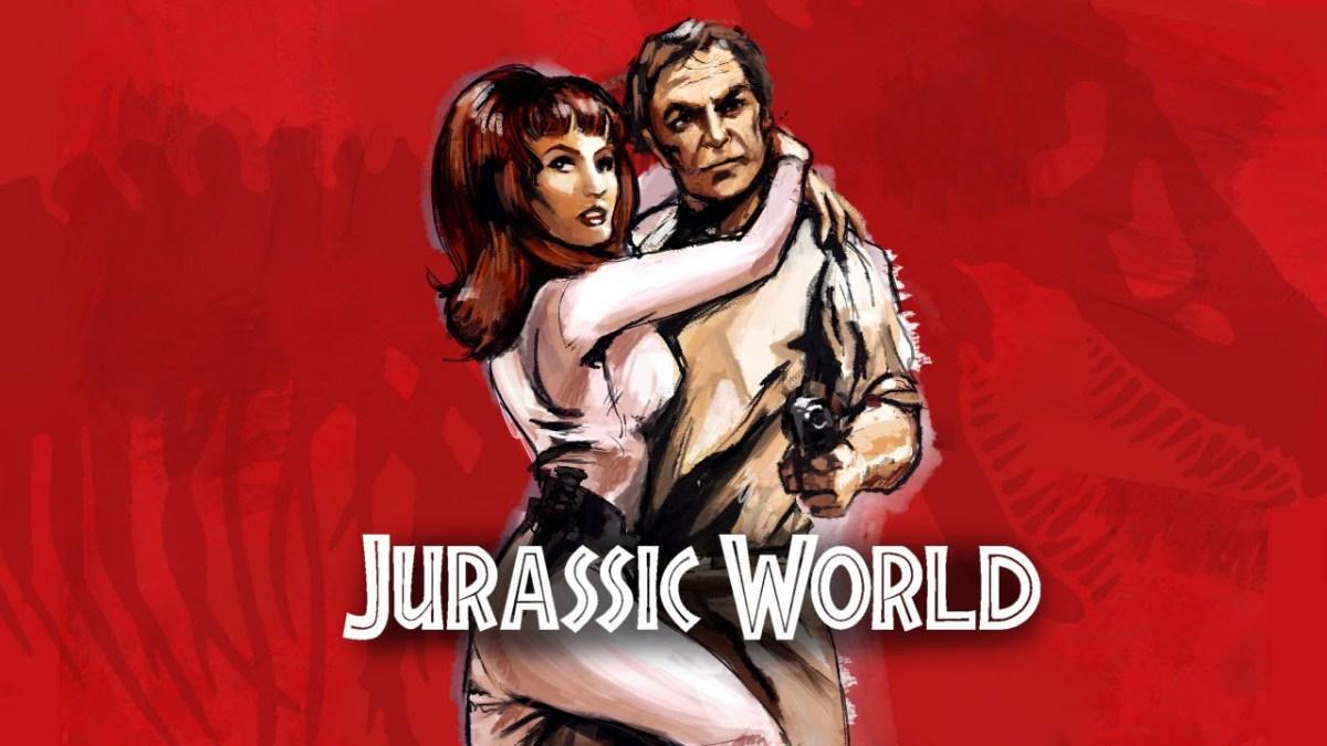 """Wie """"Jurassic World"""" aussähe, wäre er im Jahr 1978 gedreht worden"""