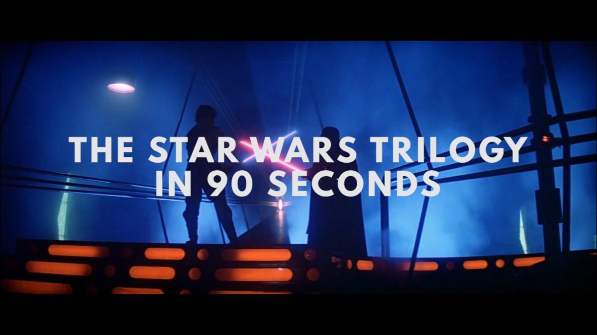 "Die originale ""Star Wars""-Trilogie in 90 Sekunden"