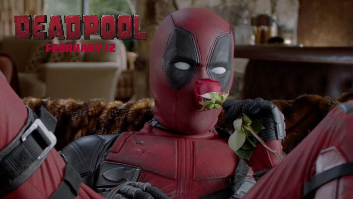 """Der anstehende """"Deadpool""""-Film ist übrigens eher eine Liebesschnulze!"""