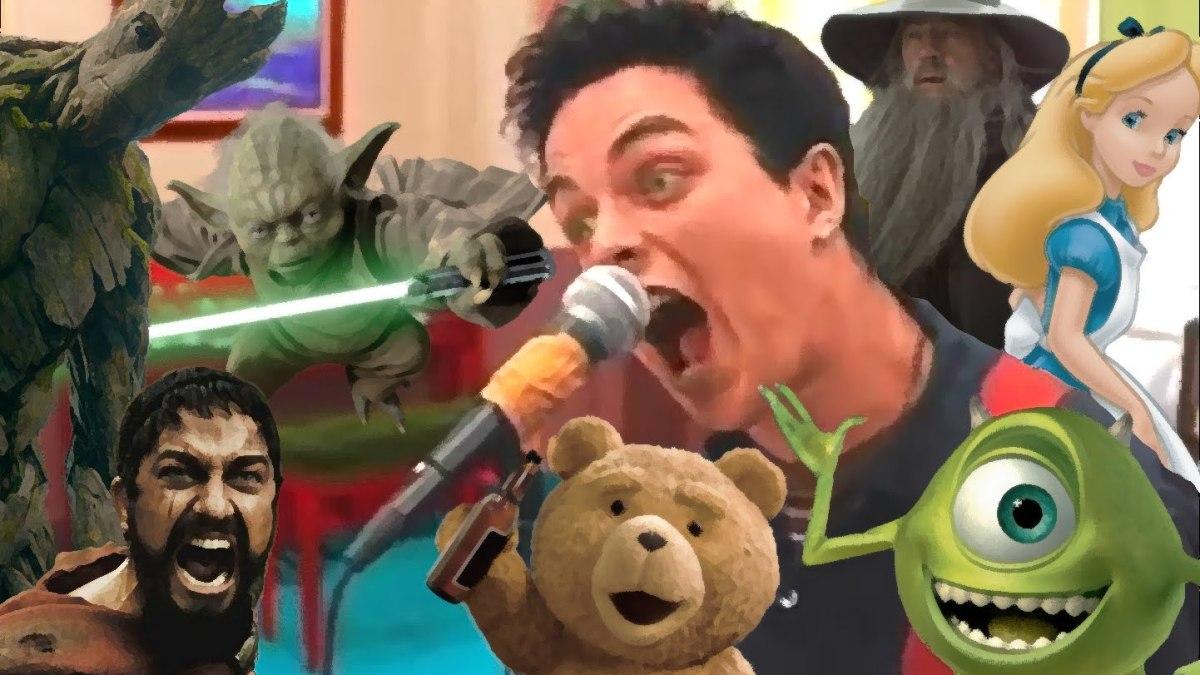 """109 Filme singen """"Basket Case"""" von Green Day"""
