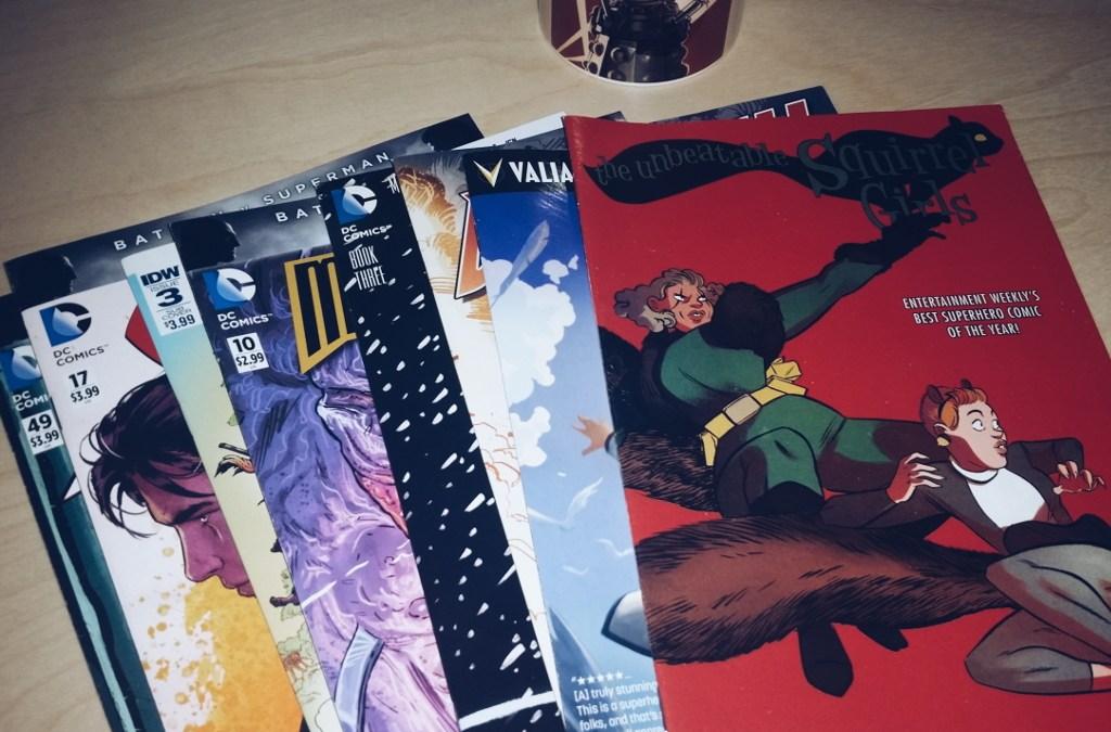 Mein Comic Haul vom 02. März 2016 (Daredevil, Faith, Midnighter, Squirrel Girl, Dark Knight Returns, uvm.)