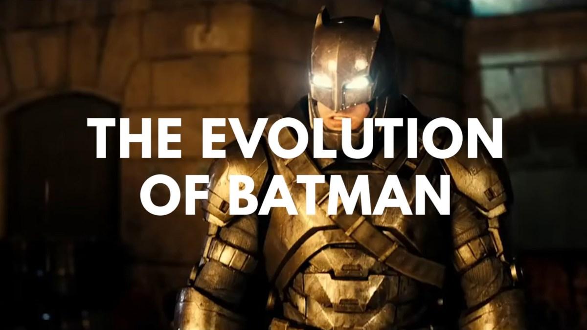 """The Evolution of Batman in Television & Film"" seit 1943"