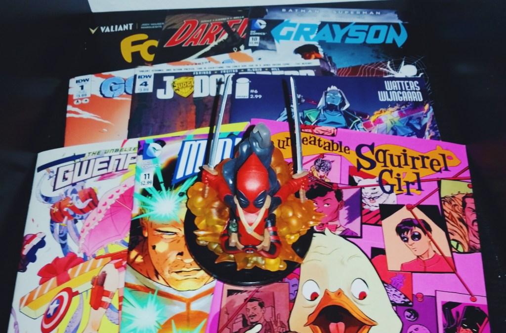 Mein Comic Haul vom 13.04.2016 (Faith, Daredevil, Godzilla, Gwenpool, Judge Dredd, Squirrel Girl uvm)