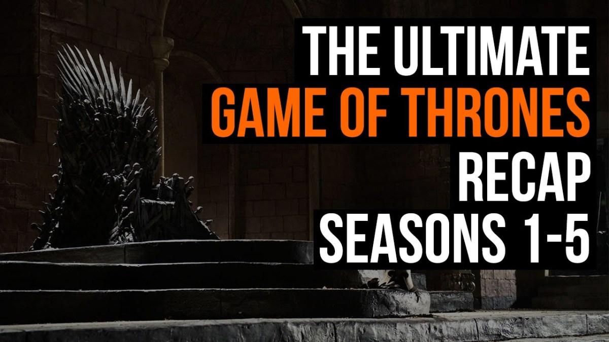 """""""Game of Thrones"""": Ein Video erklärt uns nochmal die ersten fünf Staffeln"""