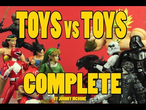 """""""Toys vs. Toys"""" – Eine Stop-Motion-Animation mit irre vielen Actionfiguren"""