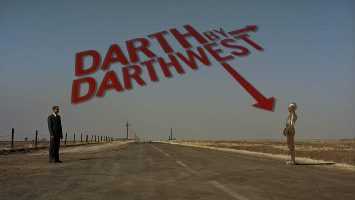 """""""DARTH BY DARTHWEST"""" kombiniert """"Star Wars"""" mit Filmen von Alfred Hitchcock"""