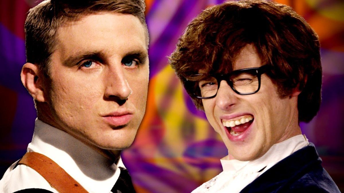 EPIC RAP BATTLES OF HISTORY: James Bond vs. Austin Powers