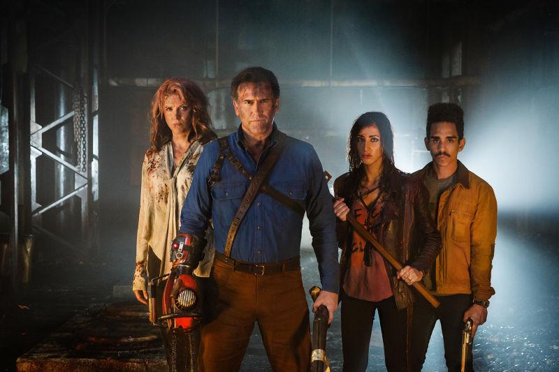 """""""Ash Vs. Evil Dead"""": In einem Promobild für die zweite Staffel sieht die Gang nicht besser aus"""