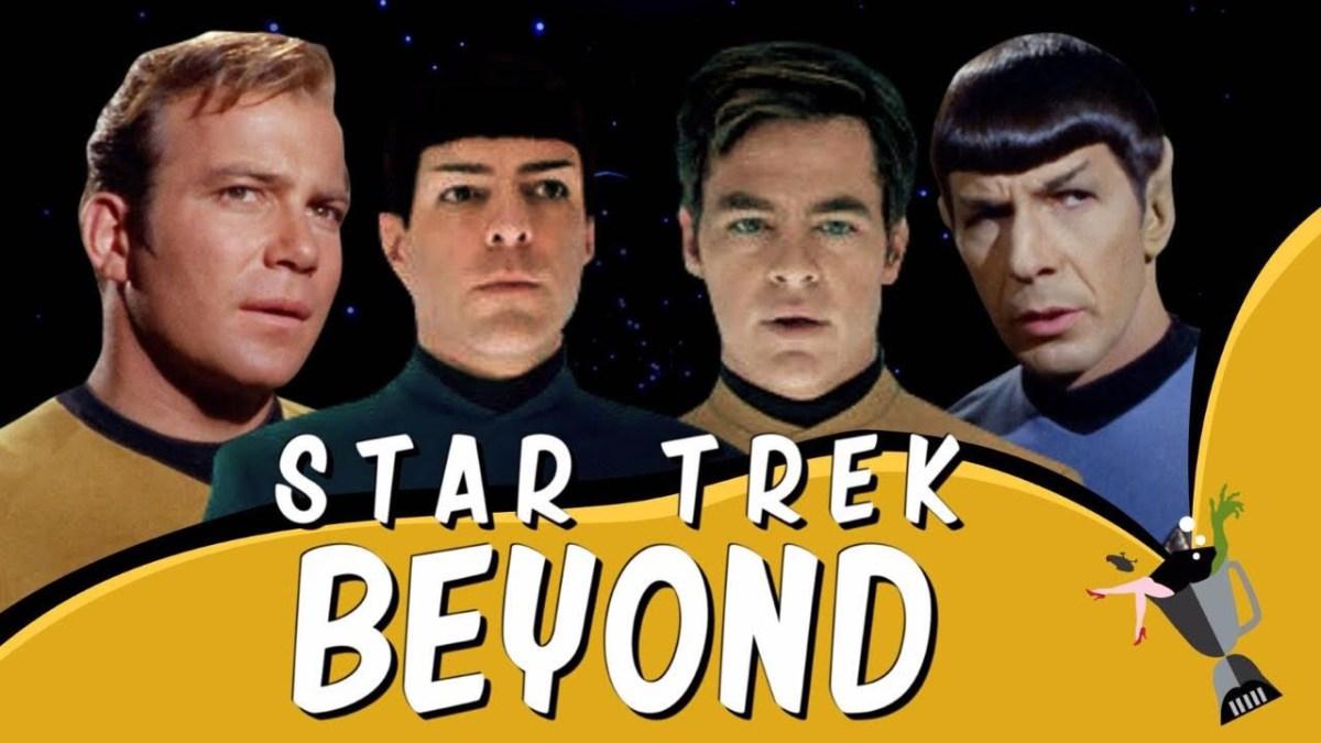 """""""Star Trek"""" von aus den 60s mit der Tonspur des """"BEYOND""""-Trailers"""