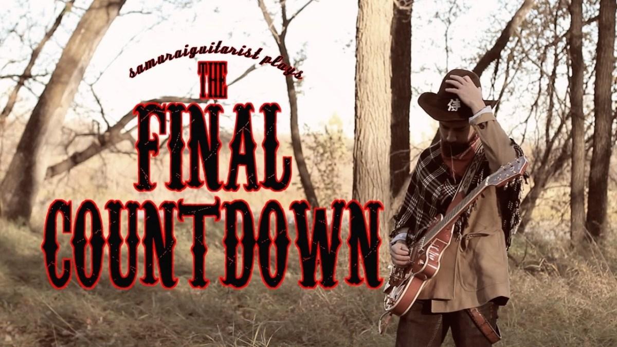 """Der Samurai Guitarist performt """"The Final Countdown"""" von Europe als Country-Version"""