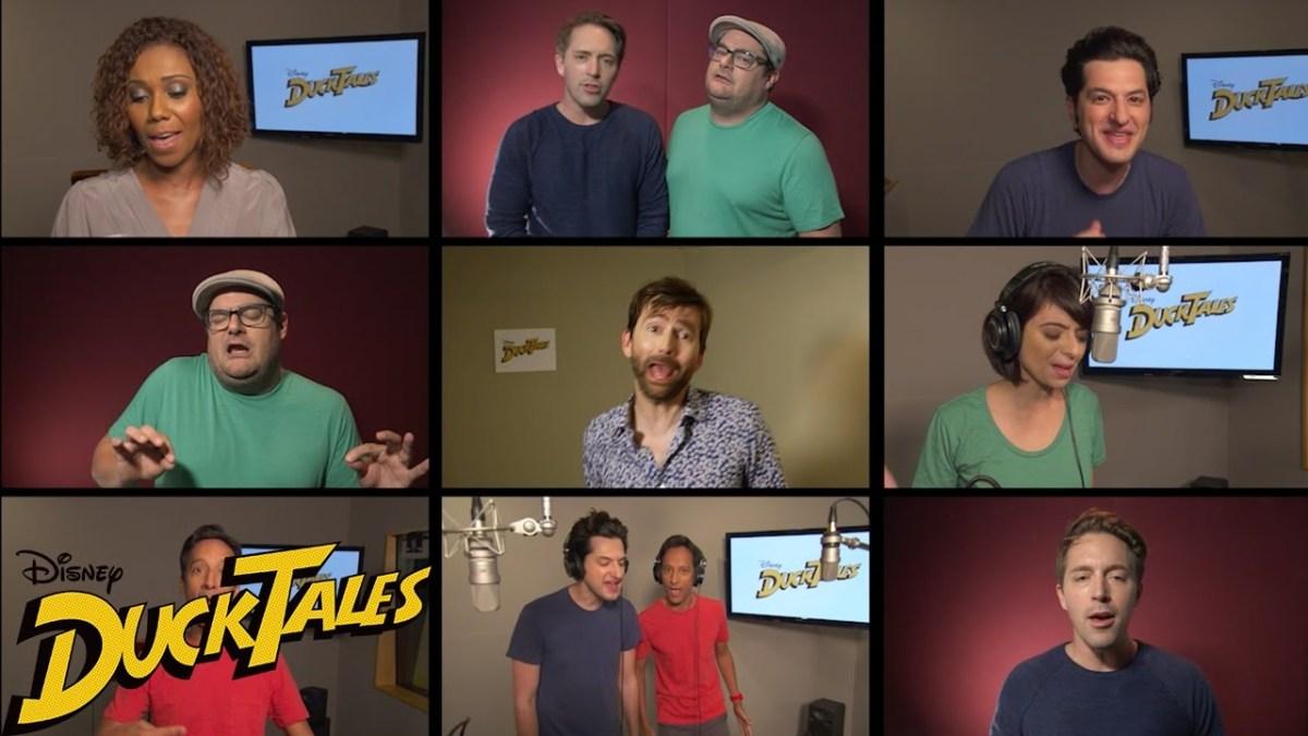 """Das ziemlich herausragende Cast eines neuen """"DuckTales""""-Films singt das bekannte Intro"""