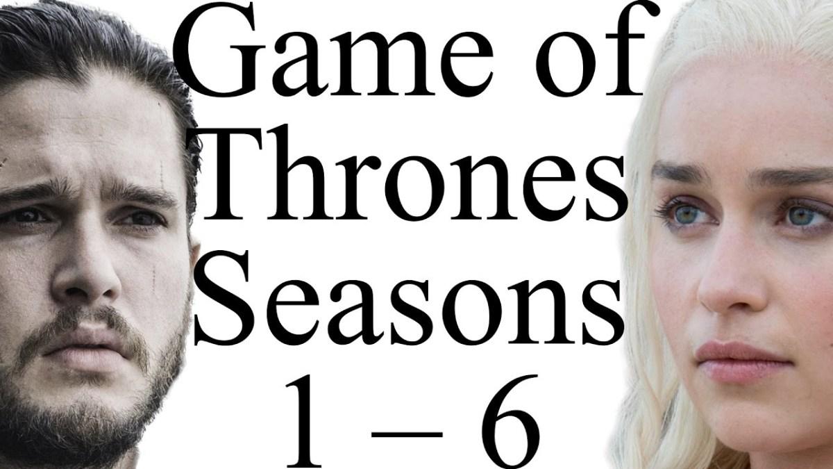 """""""Game of Thrones"""": Die ersten sechs Staffeln mehr oder weniger reimend zusammengefasst"""