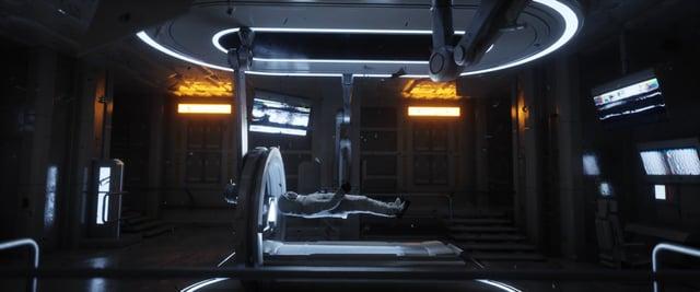 """Für das Musikvideo zu """"Walk Away"""" von David Ariew verschwindet ein Astronaut im Kosmos"""