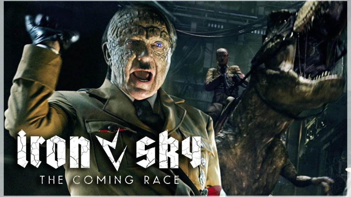 """Der neuste Trailer zu """"Iron Sky: The Coming Race"""" zeigt uns Hitler auf einem T-Rex"""