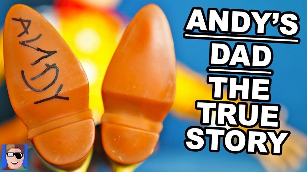 """Nun gibt es endlich eine Erklärung dafür, was mit den Vater von Andy in """"Toy Story"""" geschehen ist!"""