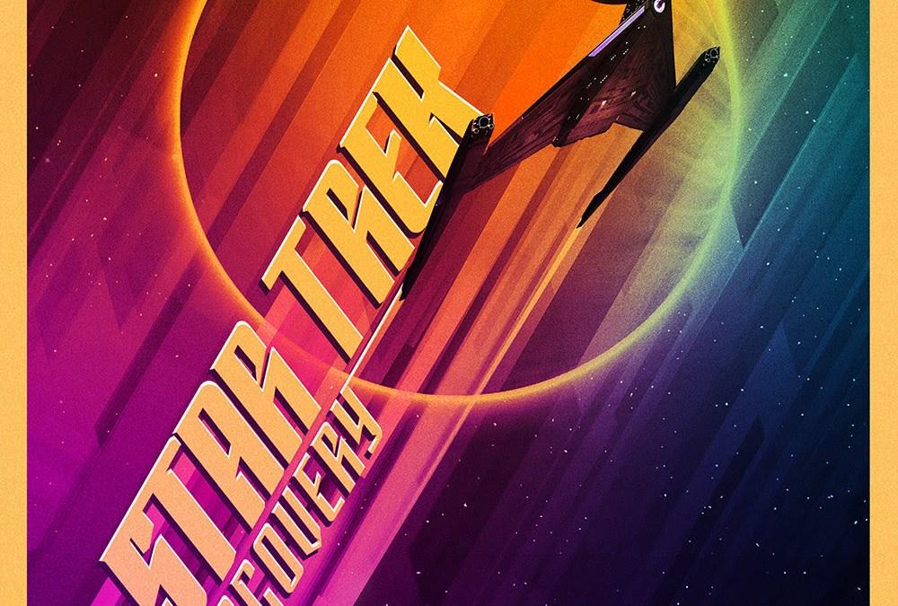 """""""Star Trek: Discovery"""": Das erste Poster zeigt uns das neue Schiff"""