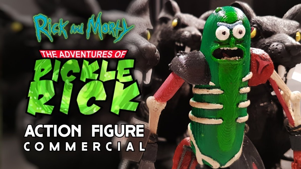 """Rick and Morty"": Pickle Riiiiiick – Die Fernsehwerbung zur Actionfigur"