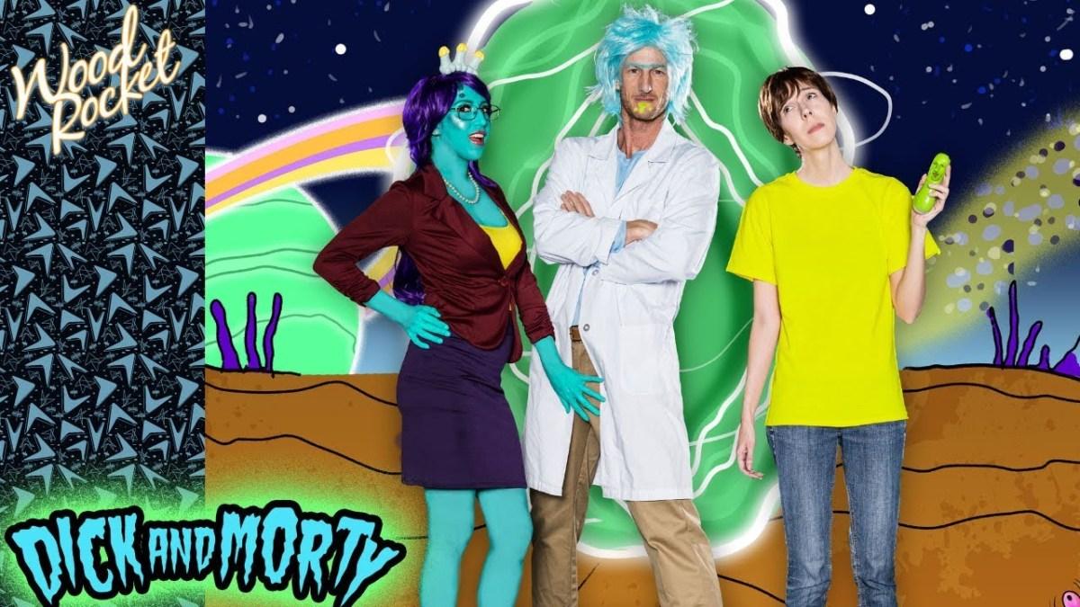 """In der Porn Parody von """"Rick And Morty"""" spielt Pickle Rick natürlich eine ganz besondere Rolle ( ͡° ͜ʖ ͡°)"""
